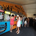 Betfair Corporate marquee at Caulfield Race Course