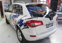Graphic design and vehicle wrap