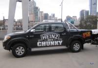 Heinz Ute vehicle wrap