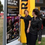 Renault GP outdoor pull up banners