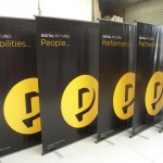 Large pull up banners