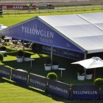 Yellowglen corporate marquee at Eagle Farm