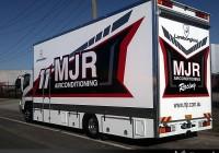 Truck vehicle wraps
