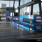 Federation Square Information Center - large format printing