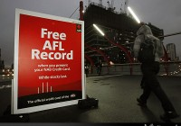 NAB activation at MCG and Etihad Stadium
