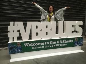 #VBBLUES giant hashtag