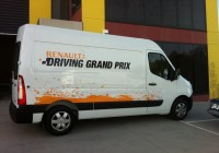 Renault vehicle wraps