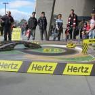Hertz Hot Laps experiential event