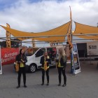 , Renault vehicle graphic wraps at the Moto GP