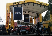 Grand Prix large format signage for Renault